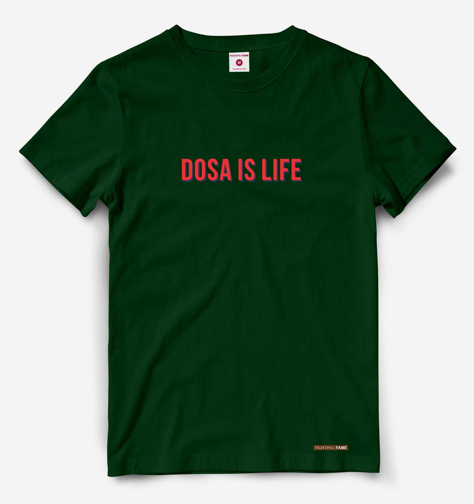 Dosa is Life Olive Tee