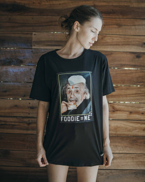 Foodie Black Tee