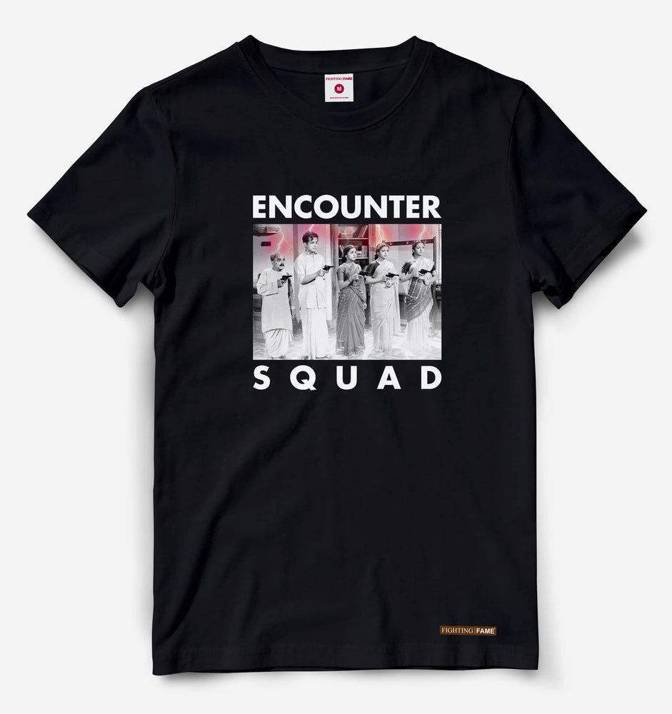 Encounter Squad Black Tee