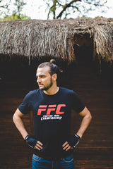 FFC Fighting Fame Championship Black T-Shirt