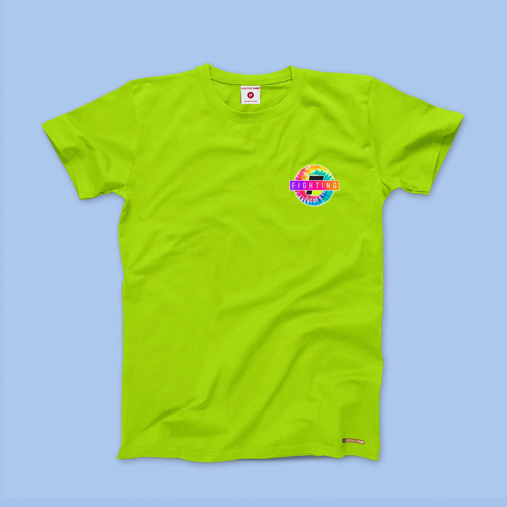 Fighting Fame The 1970 Neon Green Tee
