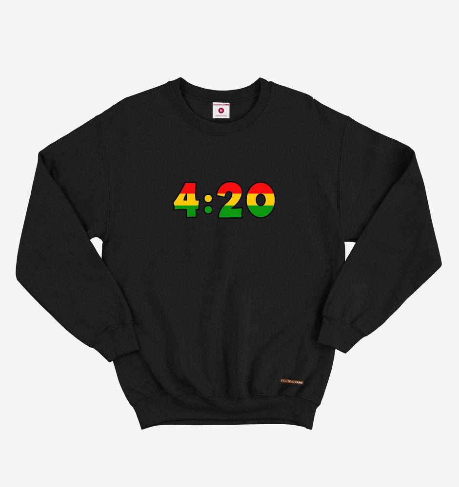 Fighting Fame 420 Black Sweatshirt