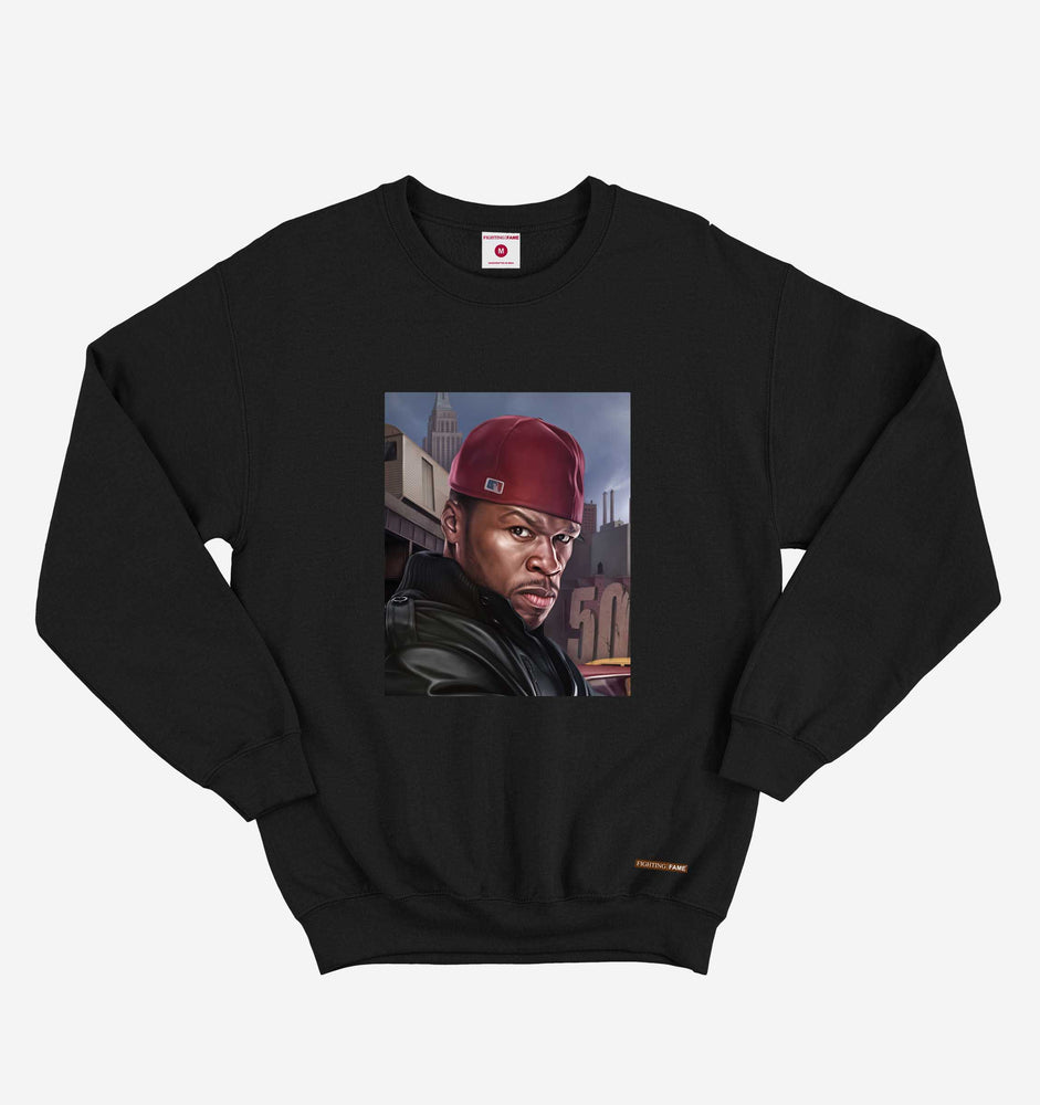 50 Cent Black Sweatshirt