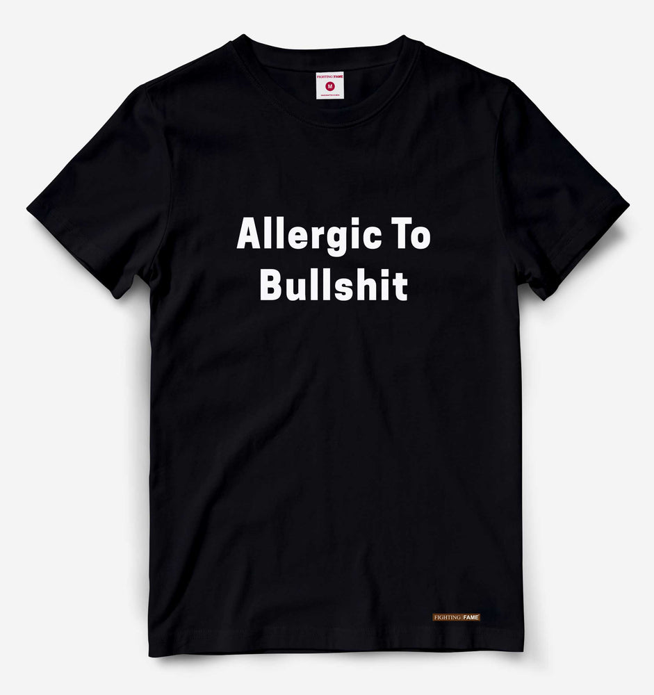 Allergic To BS Black Tee