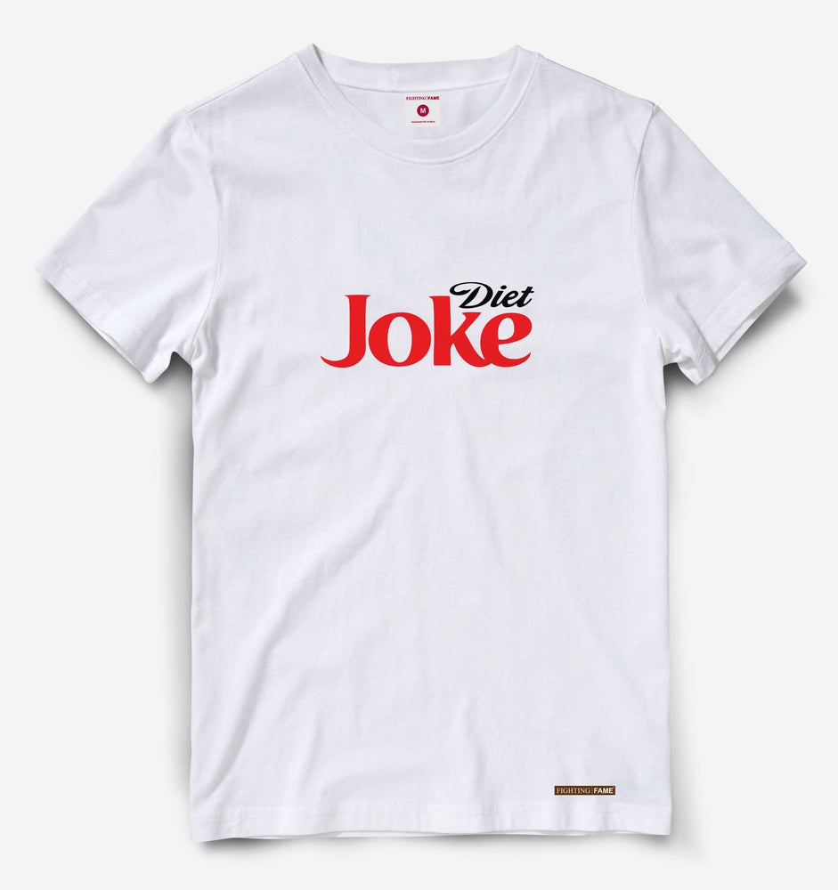 Diet Joke White Tee