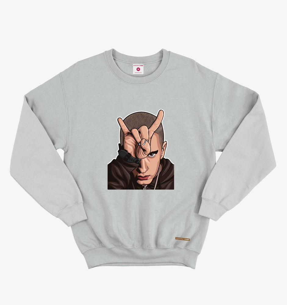 Eminem Lt.Grey Sweatshirt