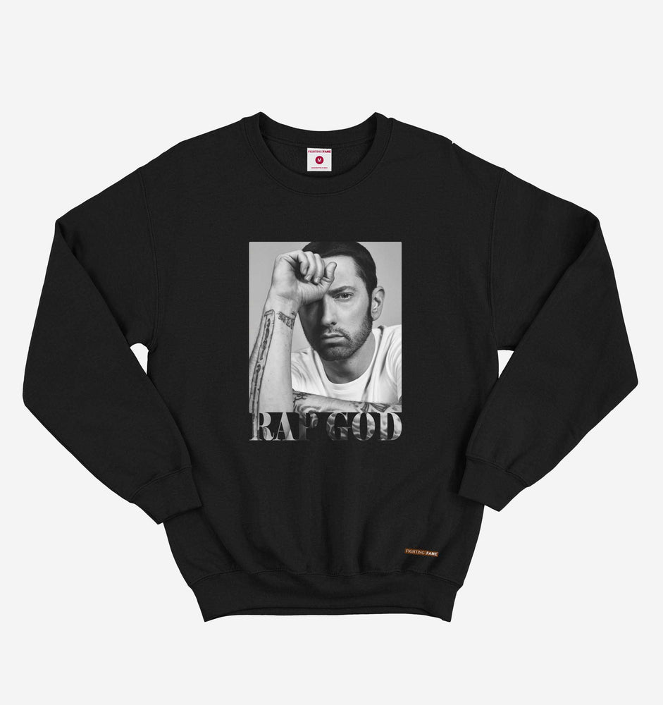 Eminem Rap God Black Sweatshirt