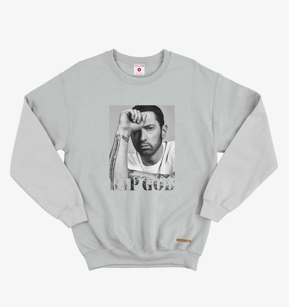 Eminem Rap God Lt.Grey Sweatshirt