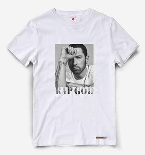 Eminem Rap God Black Tee