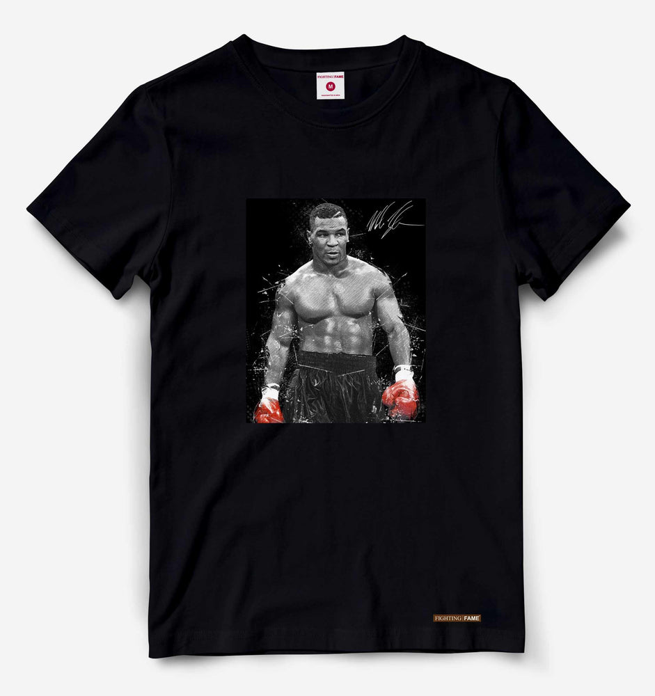 GOAT Mike Tyson Black Tee