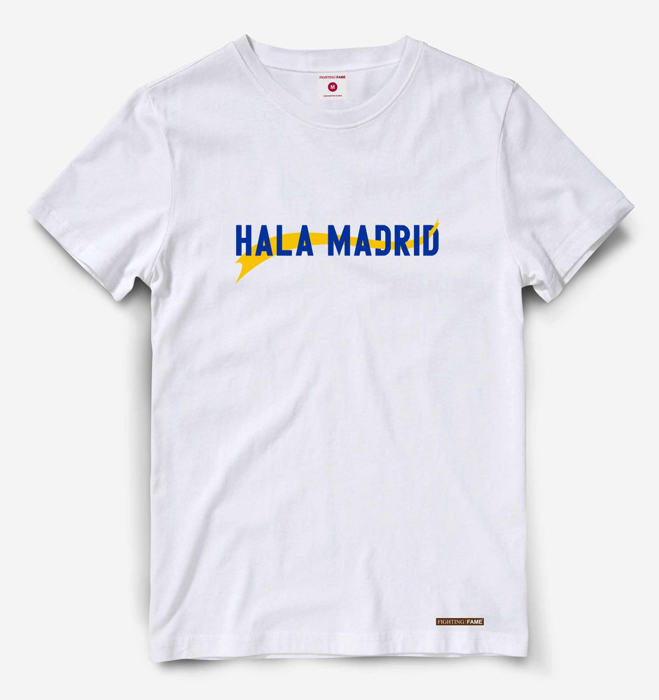 Hala Madrid White Tee