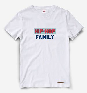 Hip Hop Family White Tee