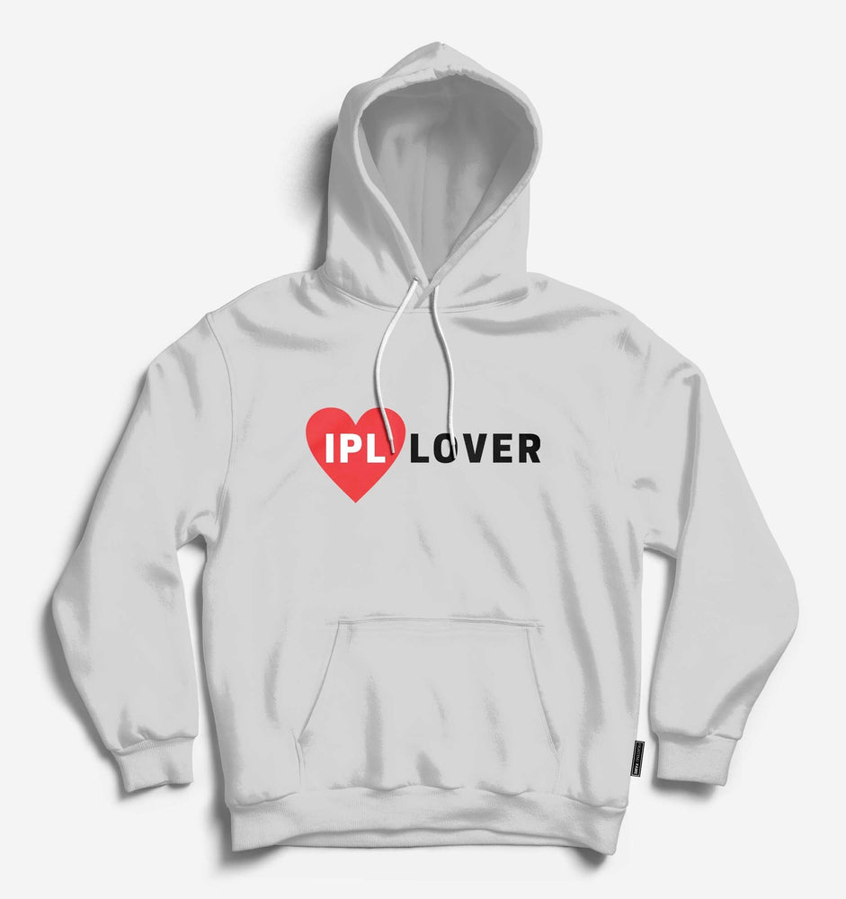 IPL Lover Unisex Lt.Grey Long Sleeve Tee With Hood