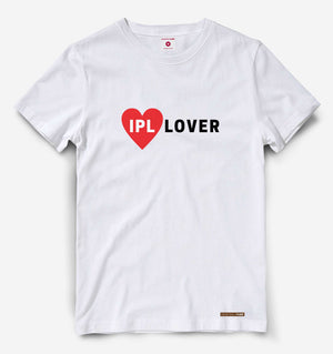 IPL Lover White Tee
