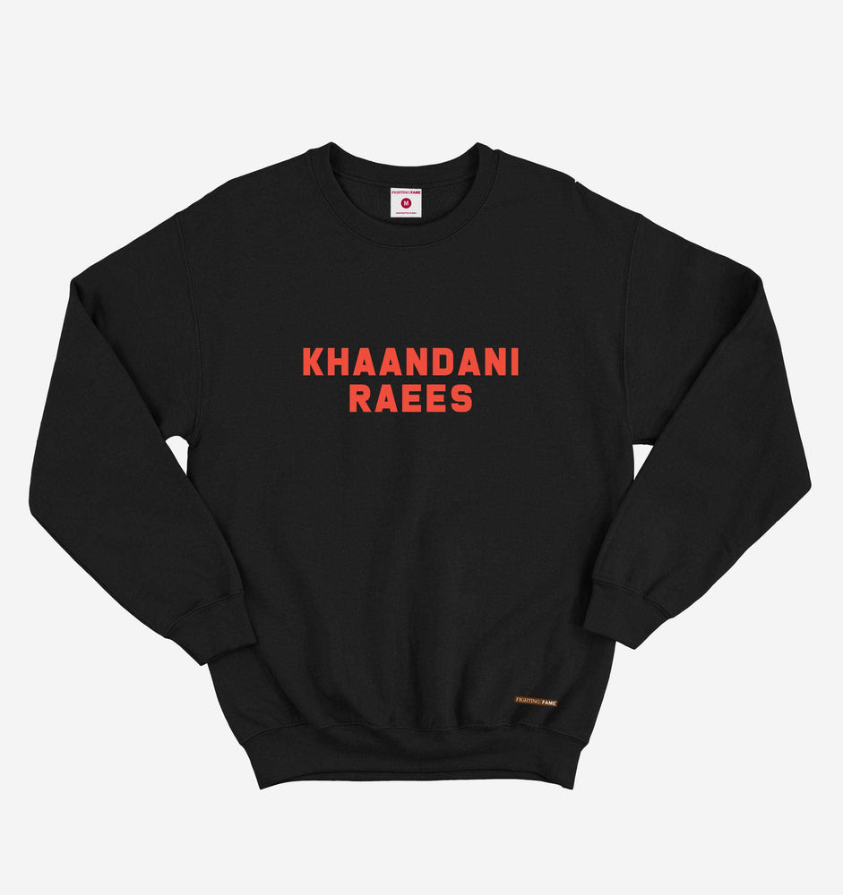 Khaandani Raees Black Long Sleeve Tee