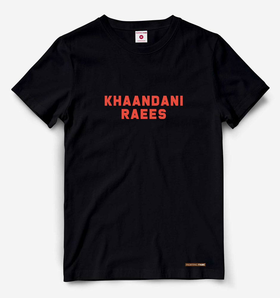 Khaandani Raees Black Tee