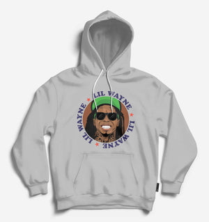 Fighting Fame Lil Wayne Lt.Grey Hip Hop Hoodie