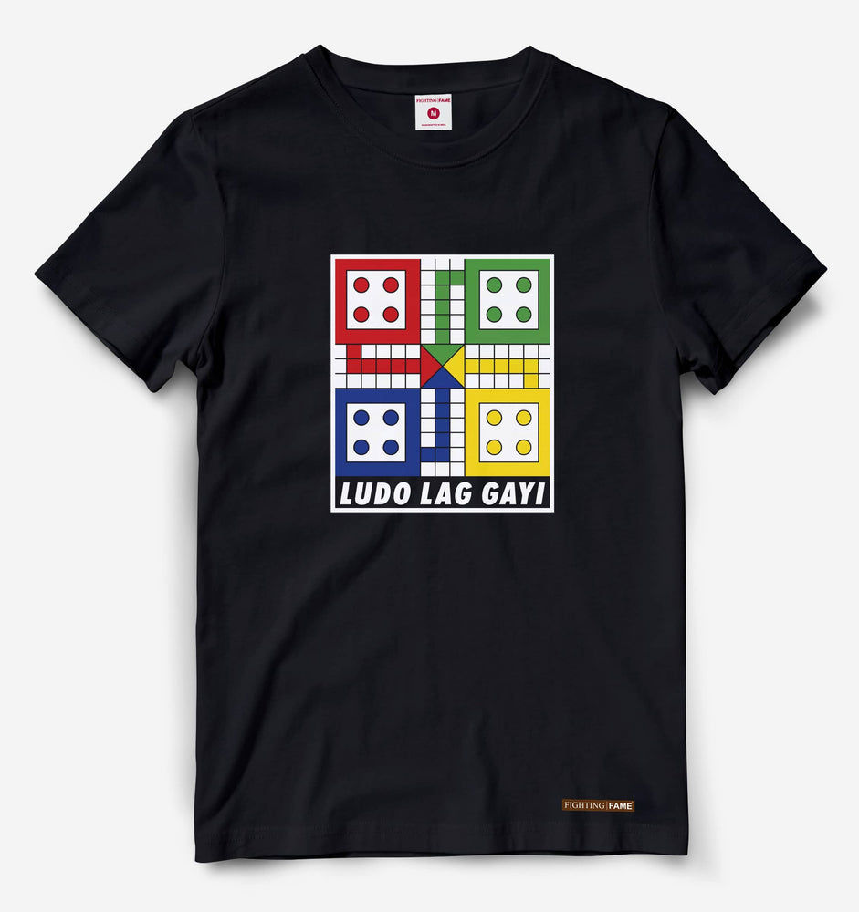 Fighting Fame Quarantine Ludo T-Shirt
