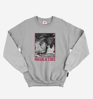 Masala Coke Steel Grey Sweatshirt