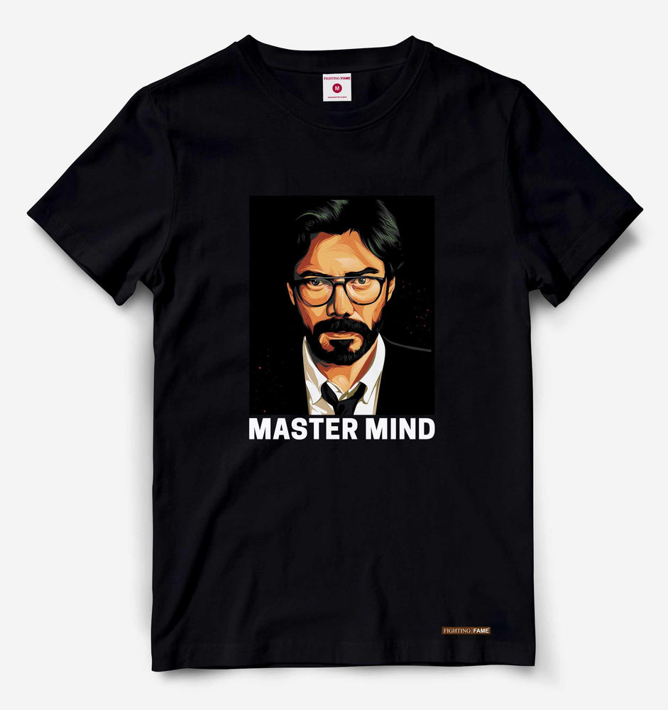 Fighting Fame Master Mind Black Tee