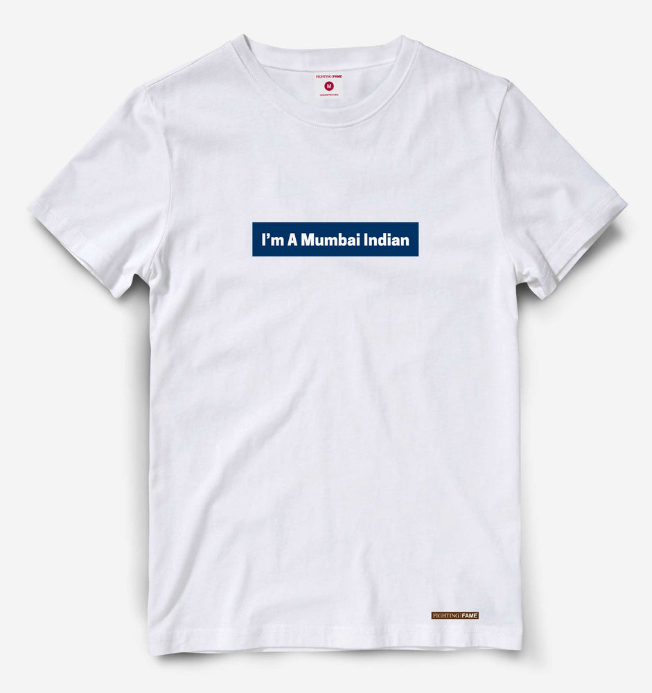 Mumbai Indian White Tee