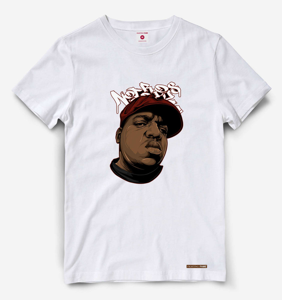 Notorious Big White Tee