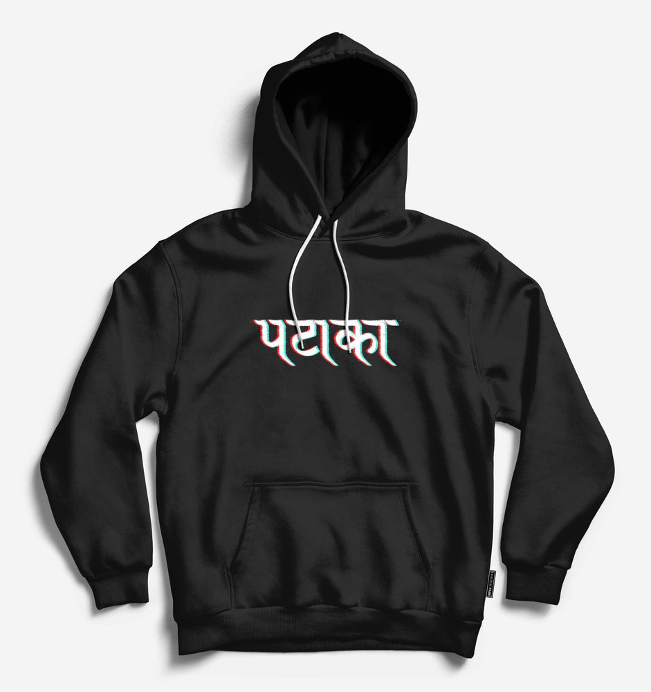 Fighting Fame Pataka Black Hoodie