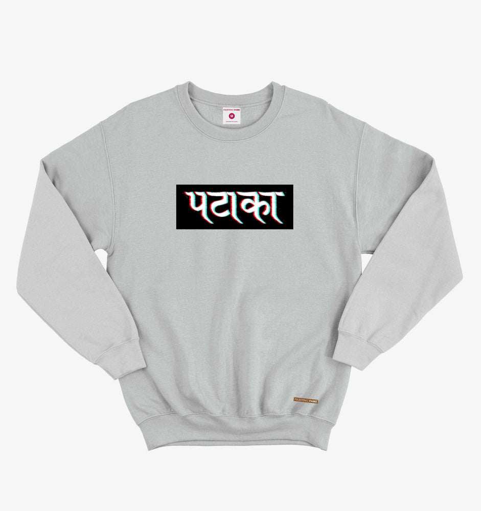 Fighting Fame Pataka Lt.Grey Sweatshirt