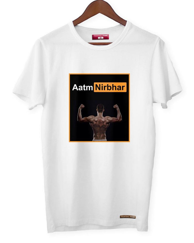 Fighting Fame Quarantine Aatmnirbhar T-Shirt