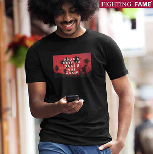 Fighting Fame Quarantine Every Day Life T-Shirt