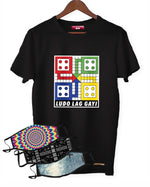 Fighting Fame Quarantine Ludo T-Shirt +  3 Mixed Masks Combo