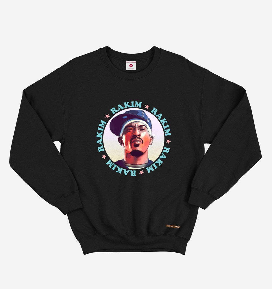 Fighting Fame Rakim Black Hip Hop Long Sleeve Tee