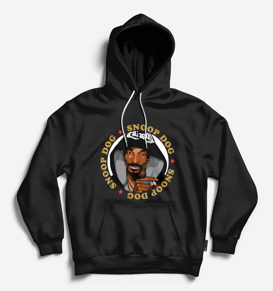 Fighting Fame Snoop Dog Black Hip Hop Hoodie