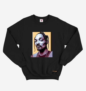 Snoop Dog Black Sweatshirt