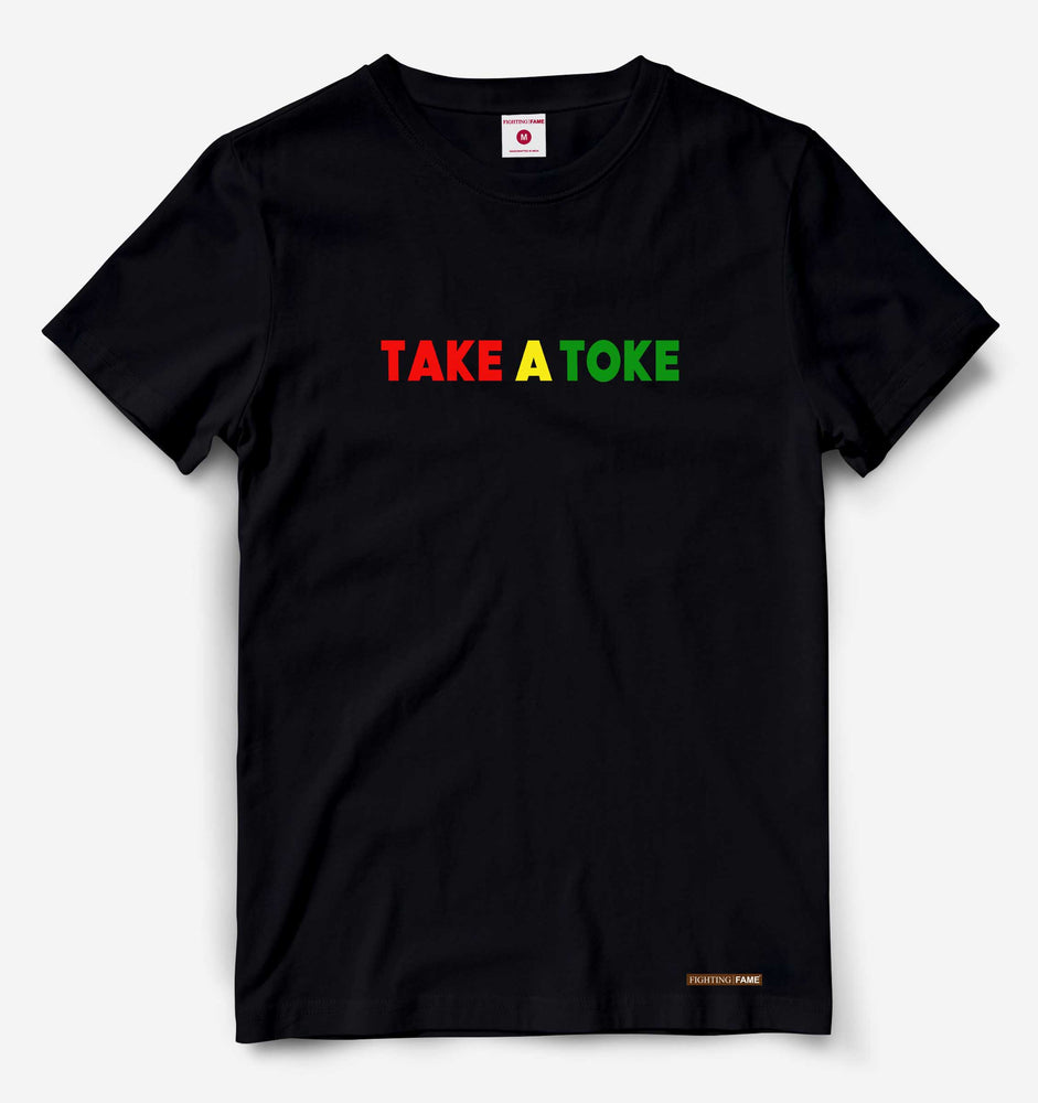 Take a Toke Black Tee
