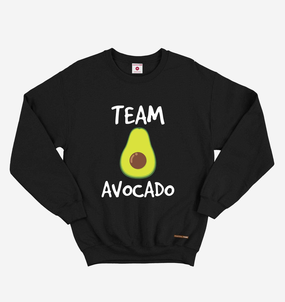 Fighting Fame Team Avocado Black Sweatshirt