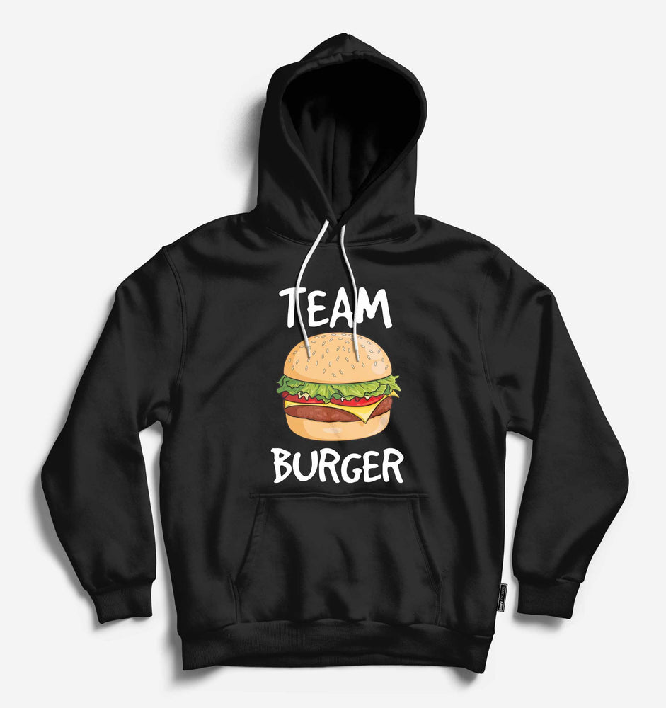 Fighting Fame Team Burger Black Hoodie