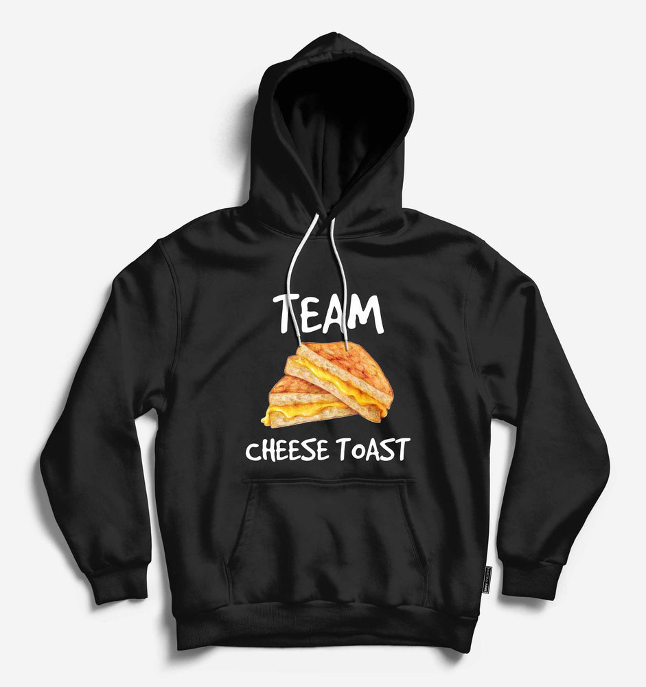 Fighting Fame Team Cheese Toast Black Hoodie