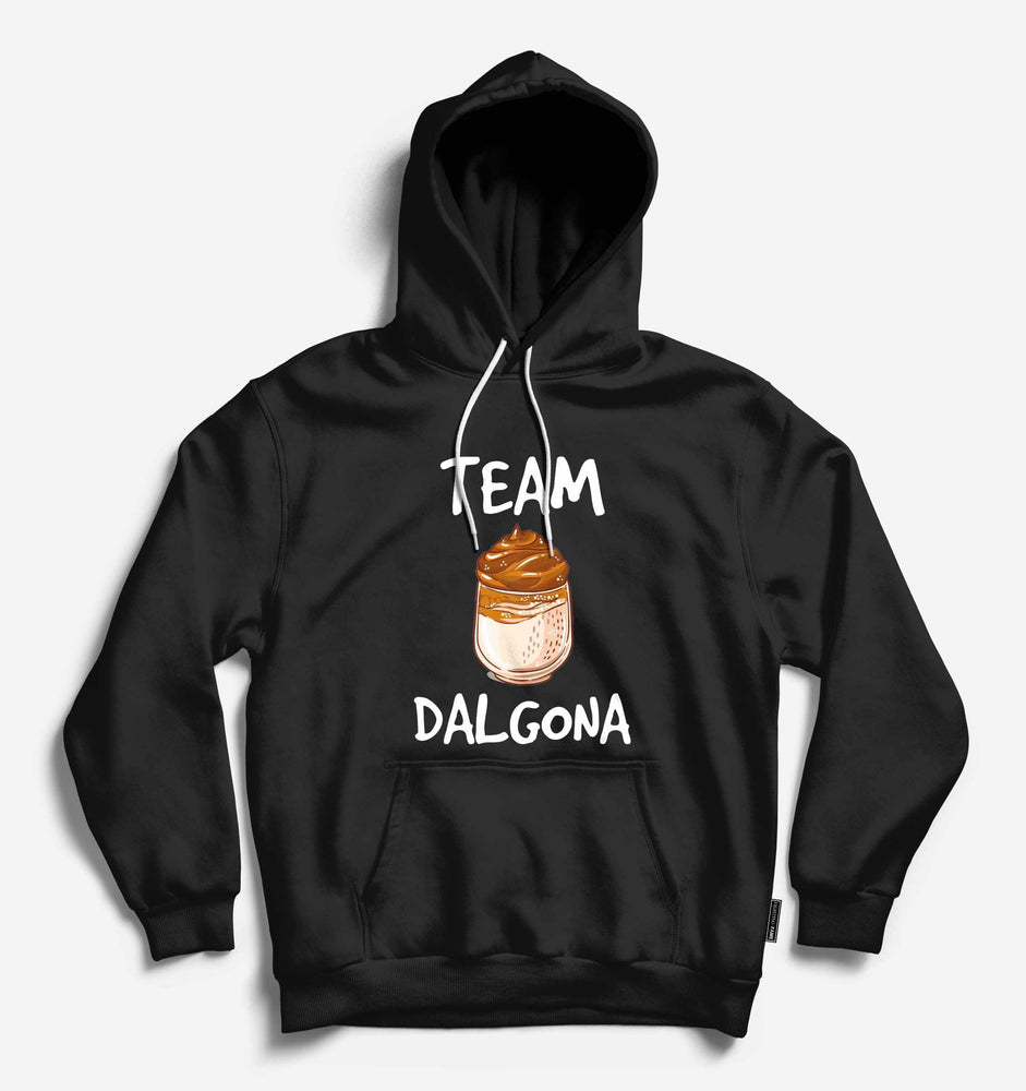 Fighting Fame Team Dalgona Black Hoodie