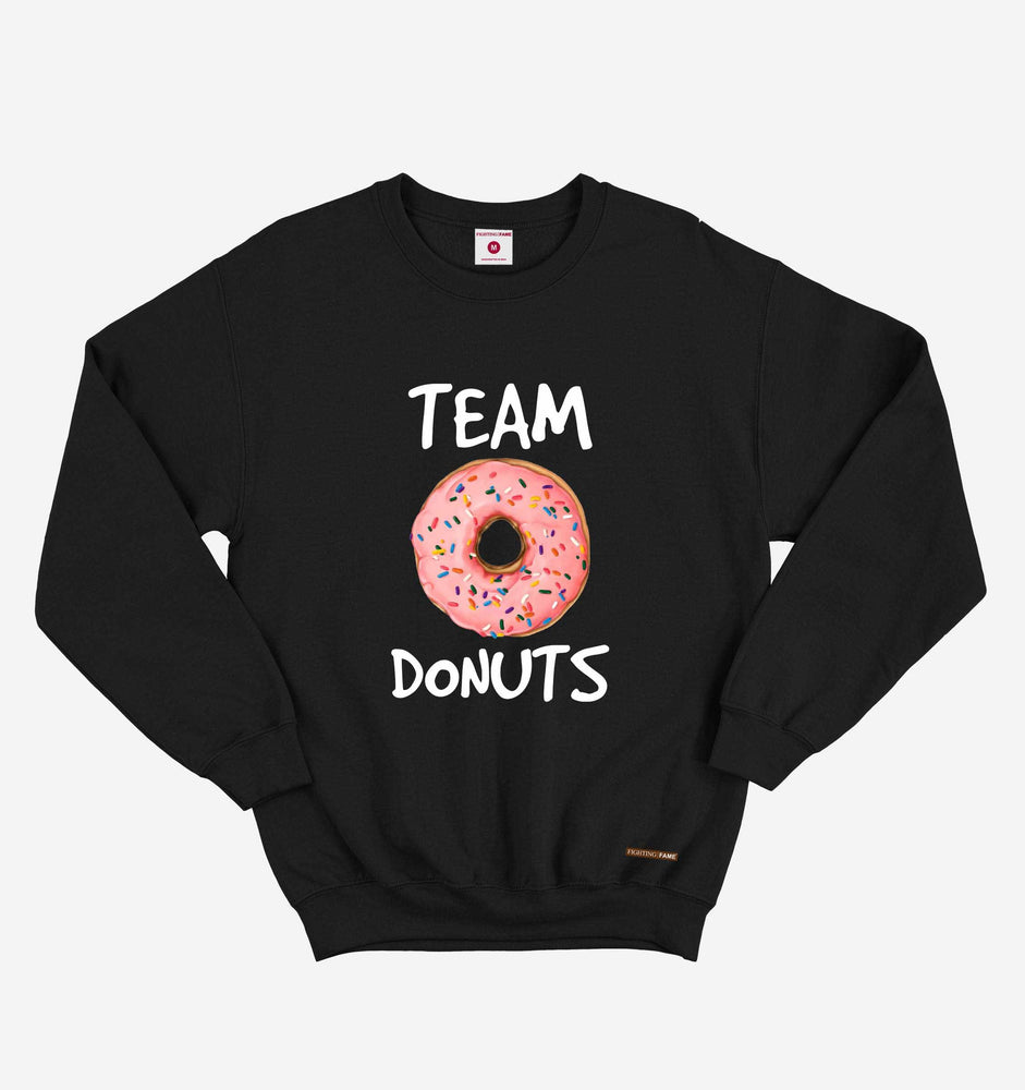Fighting Fame Team Donuts Black Sweatshirt