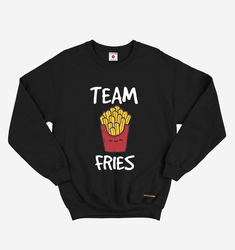 Fighting Fame Team Fries Black Sweatshirt