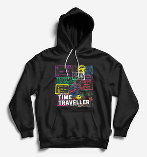 Fighting Fame Time Traveller Black Hoodie