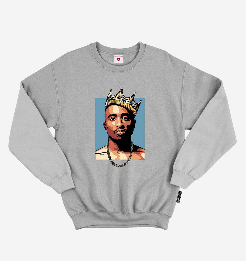 Tupac Steel Grey Sweatshirt
