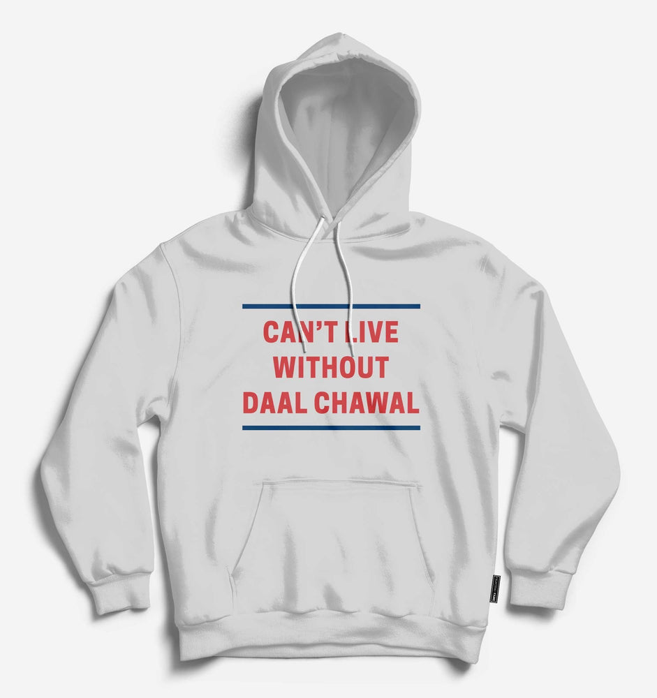 Can't Live Without Daal Chawal Unisex Lt.Grey Hoodie