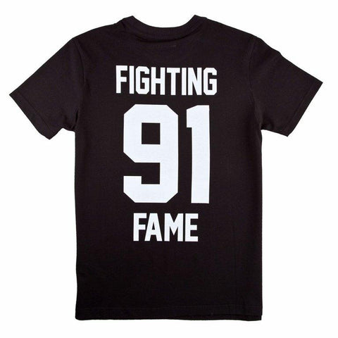 Fighting Fame 91 Black Home Football Jersey
