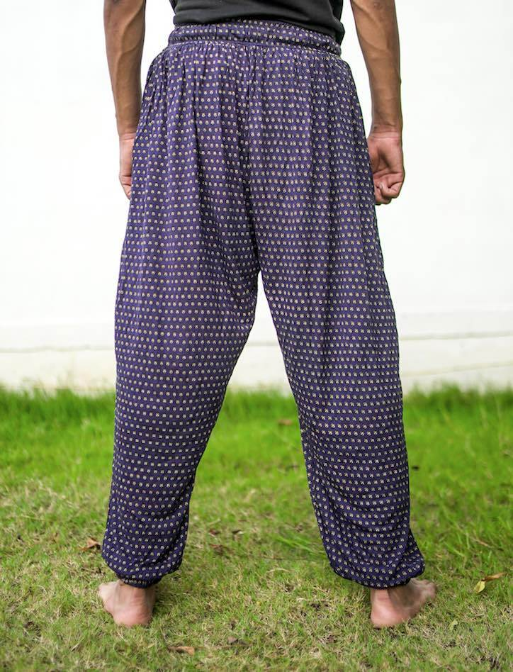 Four Way Dot Unisex Aaram Pants
