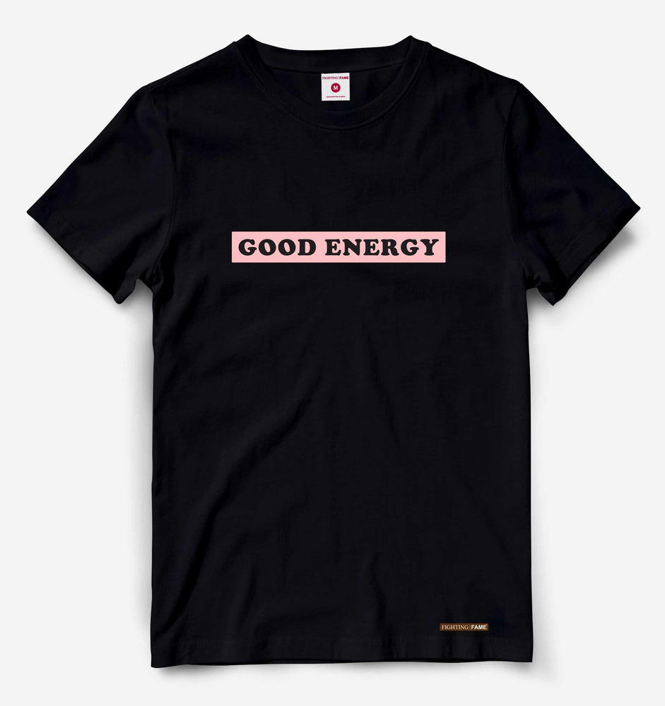 Good Energy Black Tee