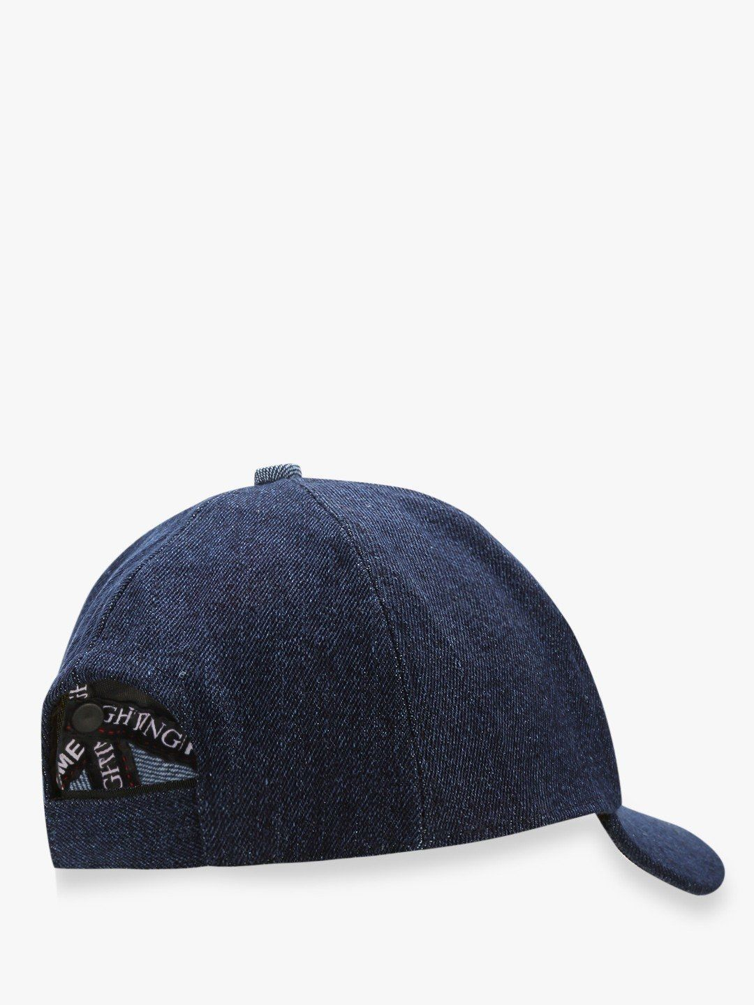 HUNGOVER Slogan Printed Denim Cap