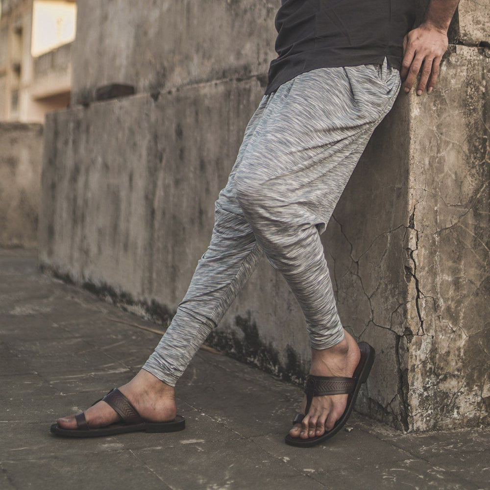 White Space Dyed Jodhpuri Joggers