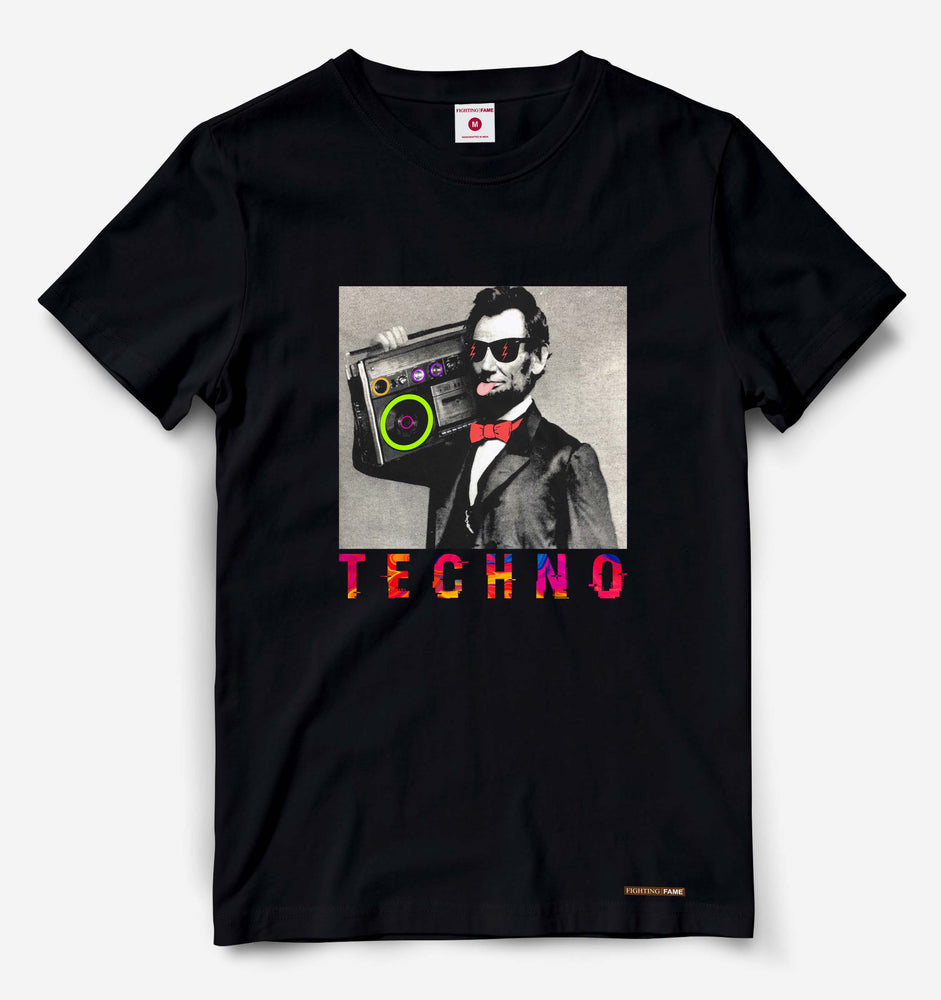 Lincoln Techno Black Tee
